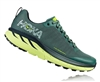 Mens Hoka CHALLENGER ATR 4 Trail Running Shoes - Silver Pine / Chinos Green