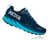 Womens Hoka CHALLENGER ATR 4 Trail Running Shoes - Poseidon / Bluebird