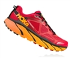 Mens Hoka CHALLENGER ATR 3 Trail Running Shoes - True Red / Chili Pepper