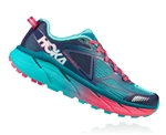 Womens Hoka CHALLENGER ATR 3 Trail Running Shoes - Peacoat / Ceramic