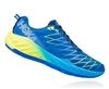 Mens Hoka CLAYTON 2 Road Running Shoes - Imperial Blue / Peacoat