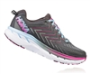 Womens Hoka CLIFTON 4 Road Running Shoes - Castle Rock / Asphalt