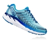 Womens Hoka CLIFTON 4 Road Running Shoes - Blue Topaz / Imperial Blue
