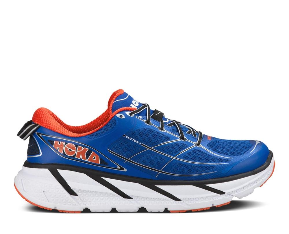 Orange Blue Running Shoes