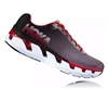 Mens Hoka ELEVON Fly Collection Road Running Shoes - Black / Racing Red