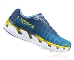 Mens Hoka ELEVON Fly Collection Road Running Shoes - Niagara Blue / Vintage Indigo