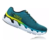 Mens Hoka ELEVON Fly Collection Road Running Shoes - Caribbean Sea / Black