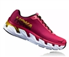 Womens Hoka ELEVON Fly Collection Road Running Shoes - Hot Pink / Cherries Jubilee