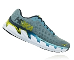 Womens Hoka ELEVON Fly Collection Road Running Shoes - Sky Blue / Citadel