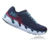 Womens Hoka ELEVON Fly Collection Road Running Shoes - Marlin / Blue Ribbon