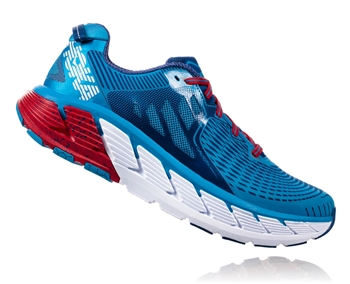 Mens Hoka GAVIOTA Road Running Shoes - Diva Blue / True Blue
