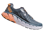 Mens Hoka GAVIOTA Road Running Shoes - Bluestone / Black Iris