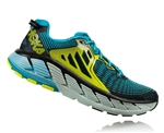 Mens Hoka GAVIOTA Road Running Shoes - Black / Caribbean Sea