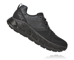 Womens Hoka GAVIOTA 2 Road Running Shoes - Black / Dark Shadow
