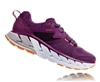 Womens Hoka GAVIOTA 2 Road Running Shoes - Grape Juice / Bright Marigold