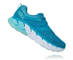 Womens Hoka GAVIOTA 2 Road Running Shoes - Caribbean Sea / Green Ash