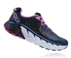 Womens Hoka GAVIOTA Road Running Shoes - Medieval Blue / Fuchsia