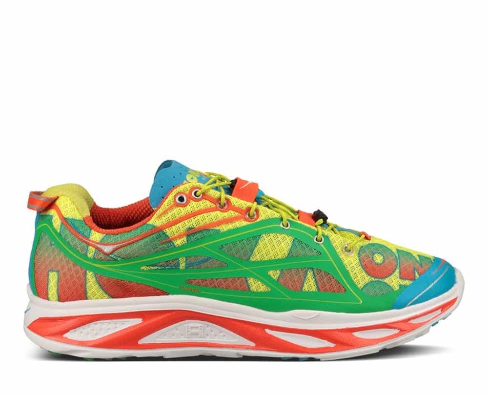 Mens Hoka HUAKA Road Running Shoes - Orange / Green / Yellow HOKA HUAKA (  MEN ) View Larger Photo Email ...