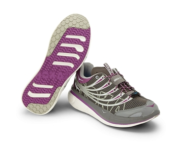 Womens Hoka KAILUA TARMAC Road Running Shoes - Grey / Parme / White