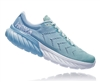 Womens Hoka One One MACH 2 road running shoes - Aquamarine / Lichen