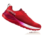 Womens Hoka MACH Fly Collection Road Running Shoes - Hibiscus / Cherries Jubilee
