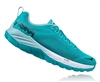 Womens Hoka MACH Fly Collection Road Running Shoes - Bluebird / White