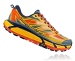 Mens Hoka MAFATE SPEED 2 Trail Running Shoes - Old Gold / Moonlit Ocean