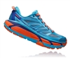Womens Hoka MAFATE SPEED 2 Trail Running Shoes - Grey / Acid