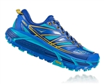 Womens Hoka MAFATE SPEED 2 Trail Running Shoes - Palace Blue / Bluebird