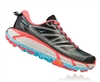 Womens Hoka MAFATE SPEED 2 Trail Running Shoes - Anthracite / Blue Topaz