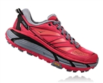 Womens Hoka MAFATE SPEED 2 Trail Running Shoes - Azalea / Black