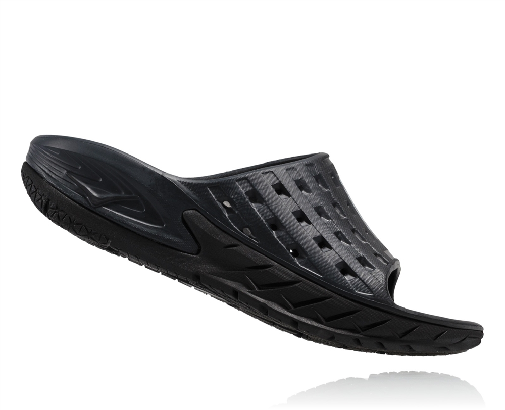 Hoka Ora Slide Women - black/anthracite 8V7ZK