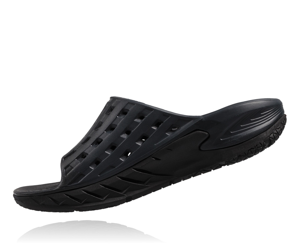 Hoka Ora Slide Women - black/anthracite fCoGQtadua