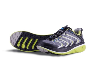 Mens Hoka RAPA NUI 2 TRAIL Running Shoes - Anthracite / Lime / Black