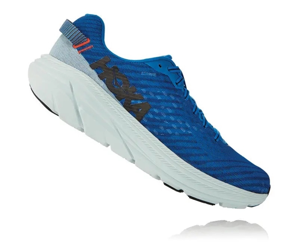 Mens Hoka One One RINCON Running Shoes - Imperial Blue / Wan Blue