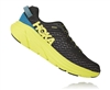 Mens Hoka One One RINCON Running Shoes - Black / Citrus