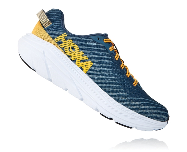 Mens Hoka One One RINCON Running Shoes - Black / White