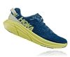 Womens Hoka One One RINCON Running Shoes - Aegean Blue / Lime Sherbet