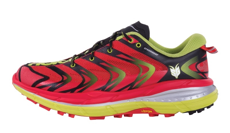 Mens Hoka SPEEDGOAT Trail Running Shoes - Bright Red / Acid HOKA SPEEDGOAT  ( MEN ) View Larger Photo Email ...