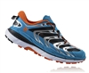 Mens Hoka SPEEDGOAT Trail Running Shoes - Blue / Red Orange