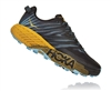 Womens Hoka SPEEDGOAT 4 Trail Running Shoes - Antigua Sand / Anthracite