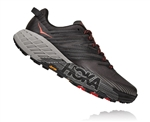Mens Hoka SPEEDGOAT 4 WIDE Trail Running Shoes - Dark Gull Grey / Anthracite
