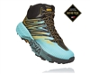 Womens Hoka SPEEDGOAT MID 2 GTX (GORE-TEX) Waterproof Trail Running Shoes - Antigua Sand / Golden Rod