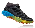 Mens Hoka SPEEDGOAT MD WP Waterproof Trail Running Shoes - Pavement / Phantom