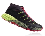 Womens Hoka SPEEDGOAT MD WP Waterproof Trail Running Shoes - Black / Nine Iron