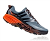 Mens Hoka SPEEDGOAT 3 Trail Running Shoes - Stormy Weather / Tangerine Tango