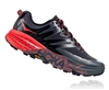 Womens Hoka SPEEDGOAT 3 Trail Running Shoes - Dark Shadow / Poppy Red