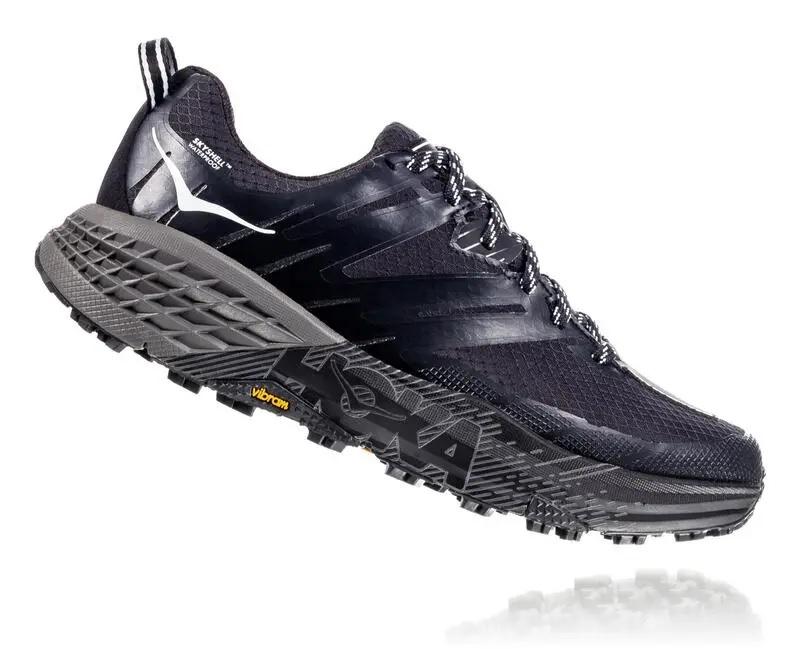 premium selection d21d4 de820 Women's Hoka SPEEDGOAT 3 WATERPROOF Shoes - Black / Plein Air