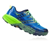 Mens Hoka SPEEDGOAT 2 Trail Running Shoes - Imperial Blue / Jasmine Green