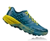 Mens Hoka SPEEDGOAT 2 Trail Running Shoes - Midnight / Niagara